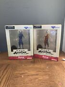 Diamond Select Avatar The Last Airbender Aang/ Avatar Aang Action Figures New