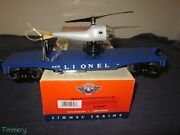 Lionel 6-29847 Pwc 3419 Navy Helicopter Launching Flat Car Ln/ob