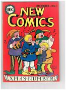 New Comics 11 Appears Vf/nm 1st Dc Christmas Cover 1936