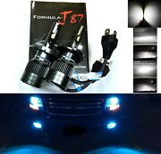 Led Kit G8 100w 9003 Hb2 H4 8000k Icy Blue Two Bulbs Head Light Lamp Motorcycle