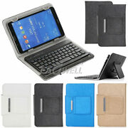 For Lenovo 7 - 10 Inch Tablet Universal Leather Case Cover With Keyboard Usb