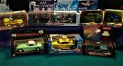 New Lot Of 9 Die-cast Model Cars Some Limited Edition Free Shipping