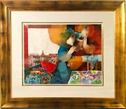 Sunol Alvar Mexican Painter Lithograph With Embossing Signed And Numbered In
