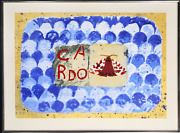Joe Tilson, Conjunction, Wood Tiger, Cardo, Woodcut With Screenprint, Signed And