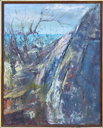 Stanley Sobossek Rockport Mass Oil On Canvas Signed L.r. Signed And Titled
