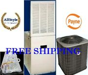 3.5 Ton R410a 14seer Mobile Home Heat Pump System Condenser And15kw Furnace And Coil