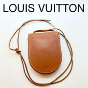 Louis Vuitton Discontinued Nomad Mini Wallet Brown Genuine Used F/s From Japan