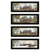 Seasons Collection 4piece Vignette By Billy Jacobs Wood Multi-color