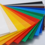Colored Opaque Acrylic Plexiglass Plastic Sheet 1/4 Thick - Pick Size And Color