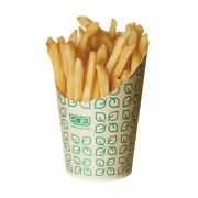 Eco-products Large Compostable French Fry Scoop / 1,000-ct. Case