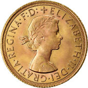 [902721] Coin Great Britain Elizabeth Ii Sovereign 1964 Ms Gold Km908