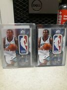09-10 Sp Game Used Basketball Logo Men Mike Conley.2/5 And 3/5.