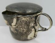 Rare And Unique Antique Sterling Silver Child Baby Sippy Cup By P. Lopez G. Mexico
