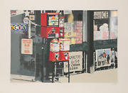 Charles Bell Little Italy Screenprint On Somerset Satin Signed And Numbered I
