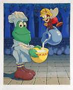 Michael Bedard Cereal Mascots Lithograph Signed And Numbered In Pencil