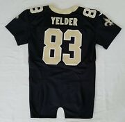 83 Deon Yelder Of New Orleans Saints Nfl Equipment Room Team Issued Jersey