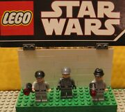 Star Wars Lego Lot Minifigure Minifig  Lot Of 3 Imperial Officers