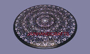 4and039x4and039 Marble Coffee Table Top Pietra Dura Antique Inlay Work Home Garden Deco