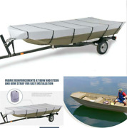 Marine Grade Heavy Duty 300d Jon Boat Covers Fits 14ft L Beam Width To 70and039and039 Boat