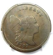 1797 Liberty Cap Flowing Hair Half Cent 1/2c With Low Head C-3a Pe - Pcgs F15
