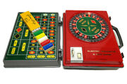Vintage Electro Roulette Game Carry Case