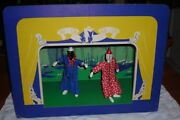 Vintage 1930's Marionettes And Stage