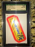 2012 Topps 3 Wacky Packages Sgc Red Rim 100 Pristine Top Grade Available Sp