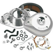 Sands Cycle Tear Drop Chrome Air Cleaner Filter Kit 93-06 Harley Big Twin Cv Carb