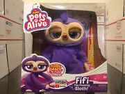 Pets Alive Fifi The Flossing Sloth Dance And Sing New Ships Free Same Day