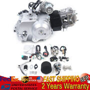 125cc Electric Start Semi-auto Motor Engine 3 Speed With Reverse For Go Kart Atv