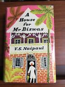 A House For Mr Biswas V.s. Naipaul Andre Deutsch 1961 1/1 With 2nd Imp D/j