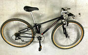 Fat Chance Buck Shaver Manitou Sporx Fork Deore Lx Mint Condition Bicycle