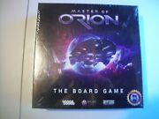 Master Of Orion--the Board Game--from The Year 2017.