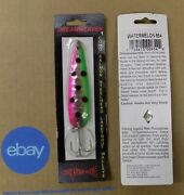 2of Dream Weaver Trolling Lure Spoons 3-3/4 Many Discontinued Select One Nip