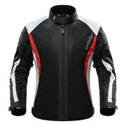 Menandrsquos Breathable Mesh Summer Motorbike Motorcycle Textile Protective Jacket