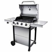 Char-broil 19 Performance 4-burner Cart Style Liquid Propane Gas Grill Stainles