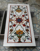 3and039x2and039 Marble Table Top Dining Center Inlay Lapis Mosaic Home Antique Decor