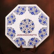 3and039x3and039 Marble Dining Coffee Corner Center Lunch Table Top Inlay Blue Malachite