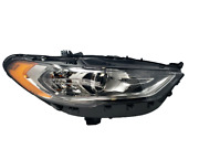 2017-2020 Ford Fusion Passenger Head Lamp Assy Halogen Without Led D.r.l Rh