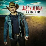 Jason Aldean They Don't Know Cd New And Sealed Country Upc 697487222720