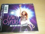 Very Good Disney Hannah Montana And Miley Cyrus Best Of Both Worlds Audio Cd