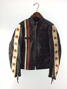 Buco Auth 2019aw J-100 Cycle Phycho Horsehide Leather Jacket Black Size S Used