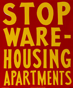 Unknown Artist Bullet Space Your House Is Mine Stop Warehousing Apartments