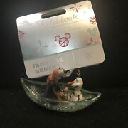 Disney Sketchbook Fairytales Moments Frozen Anna And Olaf Ornament New In Hand