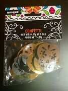 Foil Day Of The Dead Skull Confetti Nib Halloween Party Supplies, Celebrations