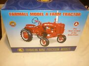 A Franklin Mint Of A Scale Model Of A International Model A Farm Tractor