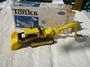 A Vintage Tonka Toys 534 Trencher Boxed