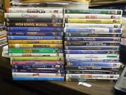 35 All Disney Live Action Children's Dvd Lot Narnia Twitches Holes Game Plan