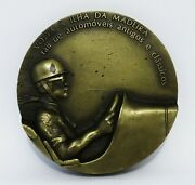Back To Madeira Island Rally Of Old And Classic Automobiles Bronze Medal Antique