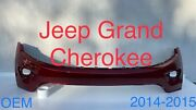 2014 2015 2016 Jeep Grand Cherokee Front Bumper Cover Oem Pt1wl27tzzac